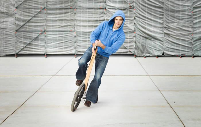 見た目はセグウェイ、中身は自転車な3輪カート「Halfbike」が完全に新しい乗り物だった 4番目の画像