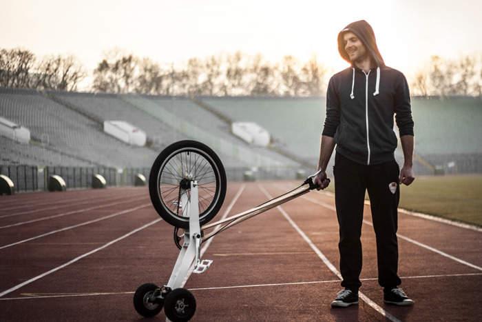 見た目はセグウェイ、中身は自転車な3輪カート「Halfbike」が完全に新しい乗り物だった 6番目の画像
