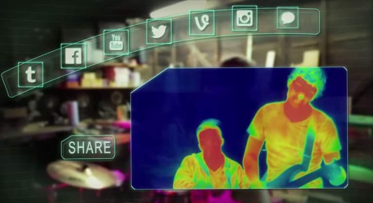 手持ちのスマホが赤外線サーモグラフィーになる「Seek thermal」の使い道、考えてみた 6番目の画像