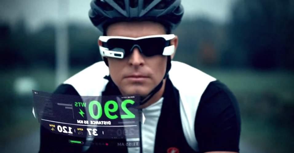 もうSFの世界はそこに。スポーツマンの全てを表示するメガネ型ウェアラブル「JET」 1番目の画像