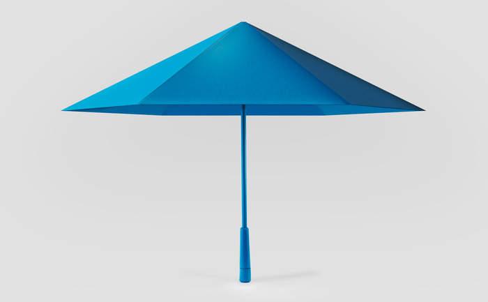 機能美とおしゃれを同時に追求したら全く新しい傘ができました。折りたたむと勝手に丸まる「Sa」 2番目の画像