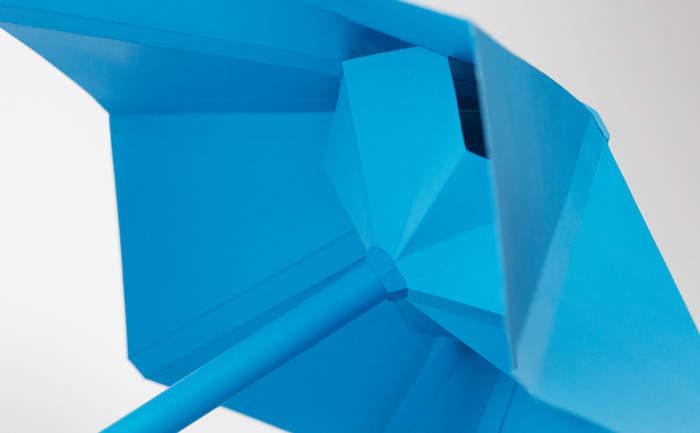機能美とおしゃれを同時に追求したら全く新しい傘ができました。折りたたむと勝手に丸まる「Sa」 6番目の画像