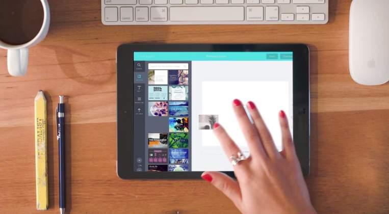 今日からあなたもデザイナー、iPadがあれば。ドラック&ドロップでデザインできる「Canva」 4番目の画像