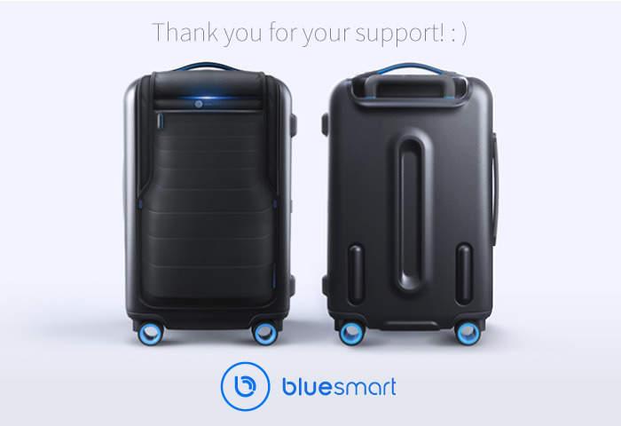 スマートフォンと繋げたら、世界一スマートなキャリーケース「Bluesmart」が出来ました 1番目の画像