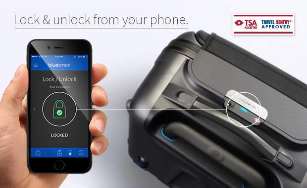 スマートフォンと繋げたら、世界一スマートなキャリーケース「Bluesmart」が出来ました 3番目の画像