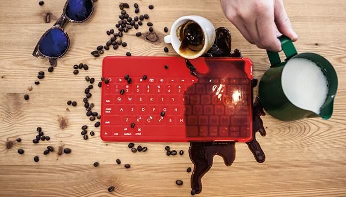 最高に薄くて、軽いポータブルキーボード「Keys-to-go」 ちょっと嬉しい防水設計も 5番目の画像