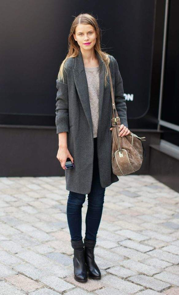 2014冬ファッションは「グレー」がなくては始まらない。賢いオンナが「グレー」に夢中な理由とは 2番目の画像
