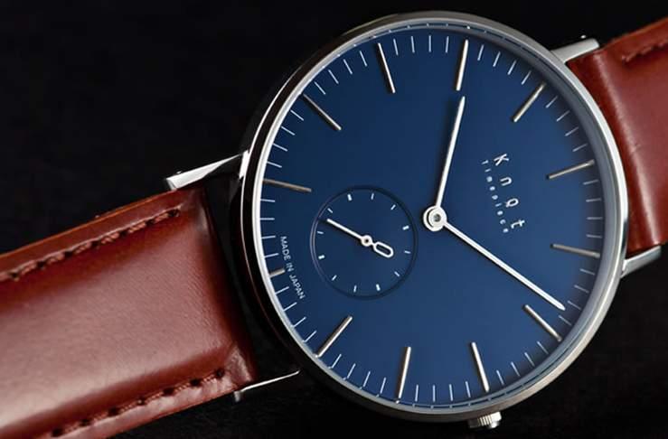 こんな時計を待っていた。 カスタマイズできるシンプルで上質な腕時計ブランド「knot」 1番目の画像