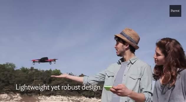 小型ドローンの王様! Parrot社が送り出す最新クアッドコプター「Bebop Drone」 2番目の画像