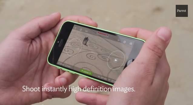 小型ドローンの王様! Parrot社が送り出す最新クアッドコプター「Bebop Drone」 4番目の画像