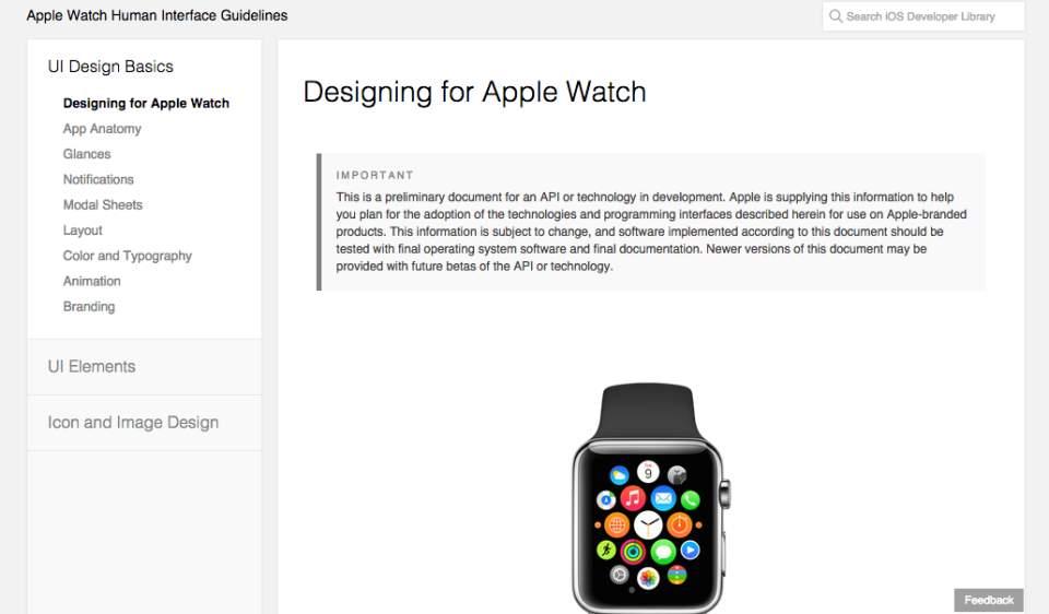 Appleが遂に公開開始! デベロッパー向けApple Watch用SDK「WatchKit」 3番目の画像