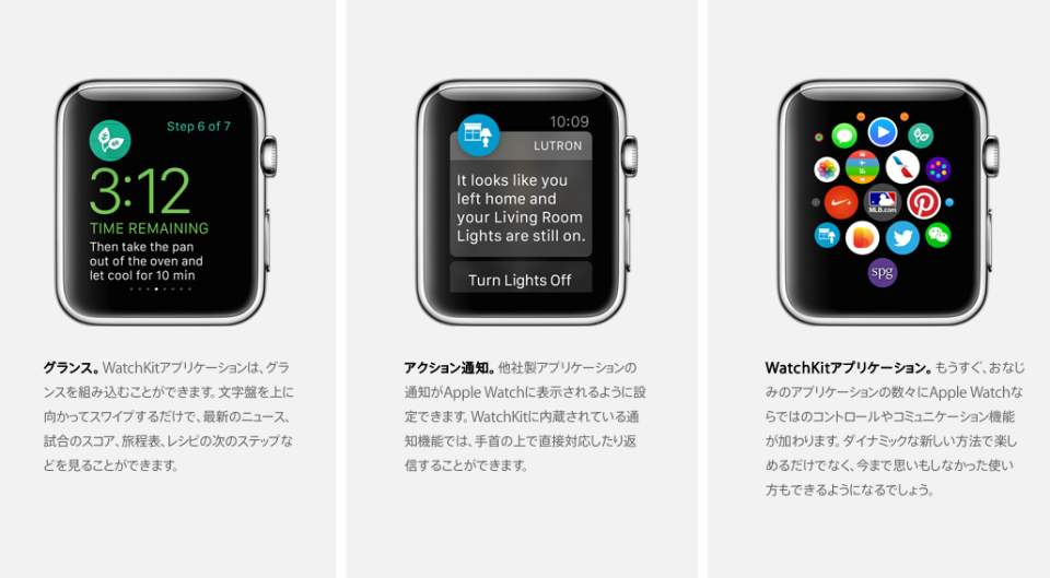 Appleが遂に公開開始! デベロッパー向けApple Watch用SDK「WatchKit」 4番目の画像