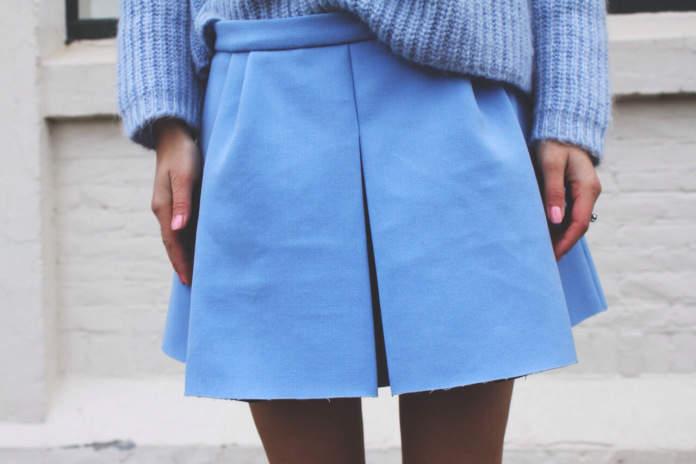 色を味方に服を楽しむ。いつでも人気のパステルカラー、1番優秀なのは「水色」です 3番目の画像