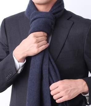 ちょっとハイレベルに挑戦! 男の魅力を惹き立てるスーツにハマるマフラーの巻き方 6番目の画像