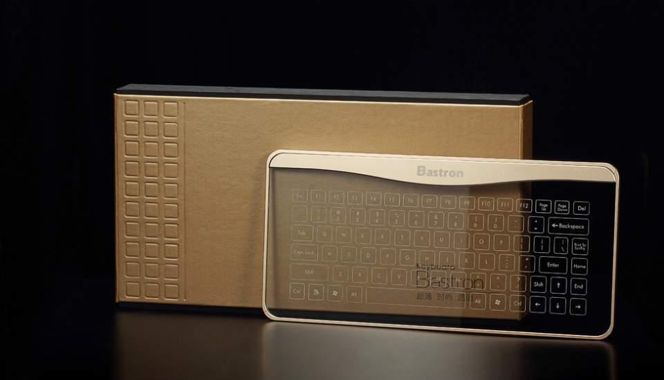 これが近未来のキーボードの形? 厚さ5mmで透明、ジェスチャー操作にも対応 2番目の画像