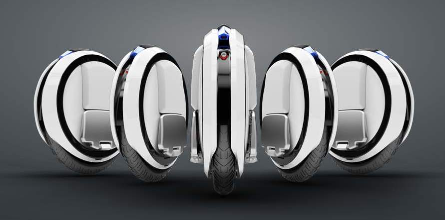SF映画で見たことある……かも? タイヤ型乗り物「Ninebot」が近未来チックでカッコイイ 2番目の画像