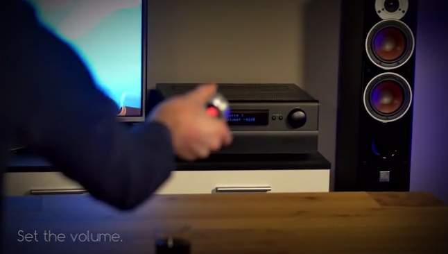 リモコンなんて必要ない。スマホと連携してジェスチャーで操作できる「SPIN remote」 5番目の画像