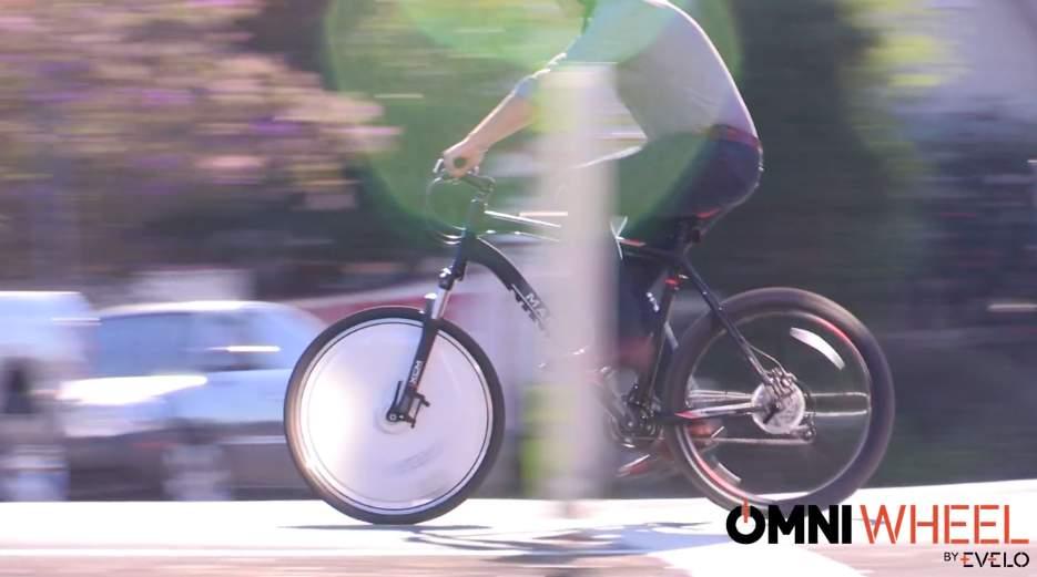普通の自転車を電動に変える。取り替えるだけでOKのホイール「Omni Wheel」はスポーツにも 1番目の画像