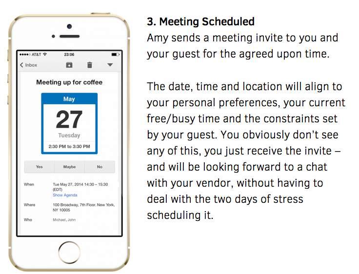 まだ会議の調整に時間を掛けますか? スケジューリングを人工知能で自動化するサービス「x.ai」 3番目の画像