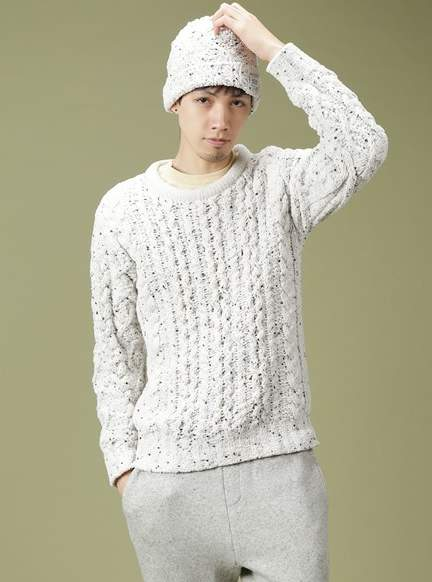 男だって、もこもこしたい。ふわもこ男子のためのジェラートピケ着こなし術 5番目の画像