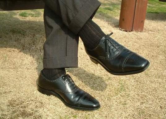 スーツと革靴の意外な関係。実はあなたもちょいダサだった!? 2番目の画像