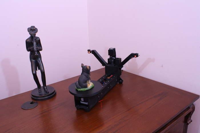 家庭用3Dスキャナーの常識を覆す! 安価なのに高性能なDIY3Dスキャナー「ATLAS 3D」 2番目の画像