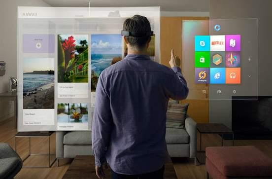 進撃のMicrosoft! 開発中のVRグラス「HoloLens」が従来の生活を一変させるかも 1番目の画像