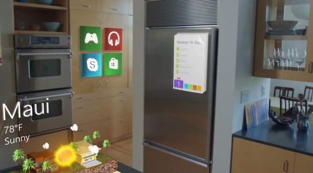 進撃のMicrosoft! 開発中のVRグラス「HoloLens」が従来の生活を一変させるかも 3番目の画像