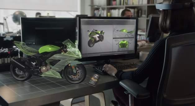 進撃のMicrosoft! 開発中のVRグラス「HoloLens」が従来の生活を一変させるかも 5番目の画像