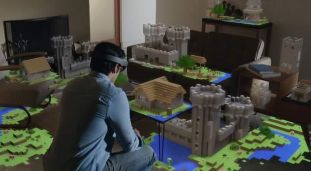 進撃のMicrosoft! 開発中のVRグラス「HoloLens」が従来の生活を一変させるかも 6番目の画像