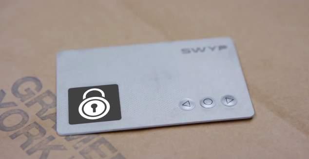 「汚」財布問題に終止符を! 財布の中のクレカを一つにまとめられるカード型ガジェット「Swyp」 1番目の画像