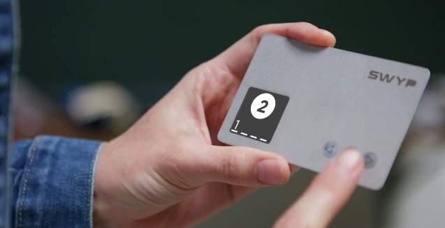 「汚」財布問題に終止符を! 財布の中のクレカを一つにまとめられるカード型ガジェット「Swyp」 4番目の画像