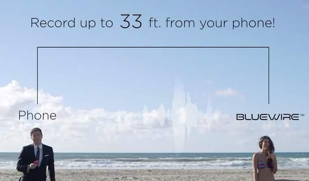 営業マンには嬉しいかも? 通話内容を録音してくれるスマホ用レコーダー「Bluewire」 3番目の画像