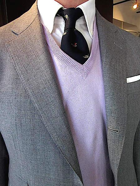 【応用編】いつものスーツスタイルに革命を。 定番の着こなし「ちょい変え」のマンネリ打破テクニック 2番目の画像