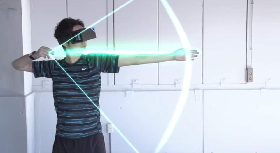 手から波動や光線が出せる! HMDとスマートウォッチを使ったゲームで子供時代の夢を叶えませんか? 5番目の画像