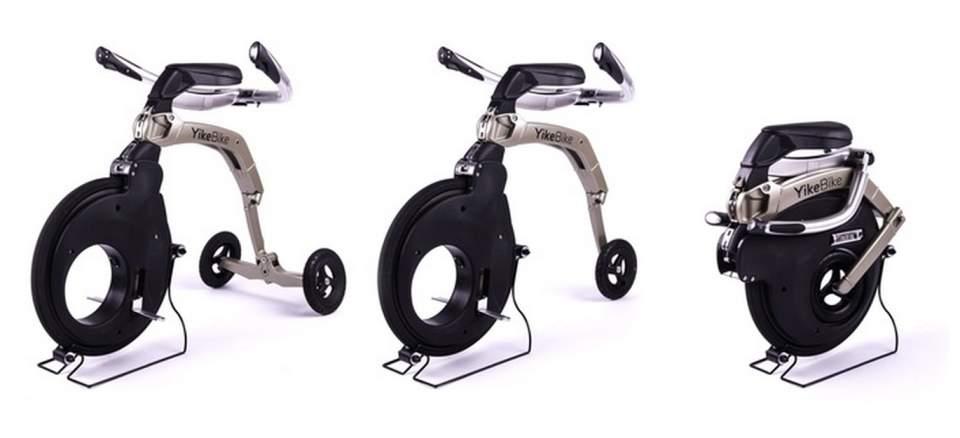これぞ未来の乗り物。座ったままの感覚で操縦できる新型電動スクーター「YikeBike」 2番目の画像