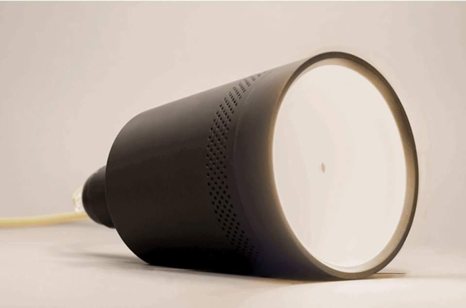 家庭でも手軽にプロジェクター。電球のソケットにつけるだけで使えるプロジェクター「Beam」 4番目の画像