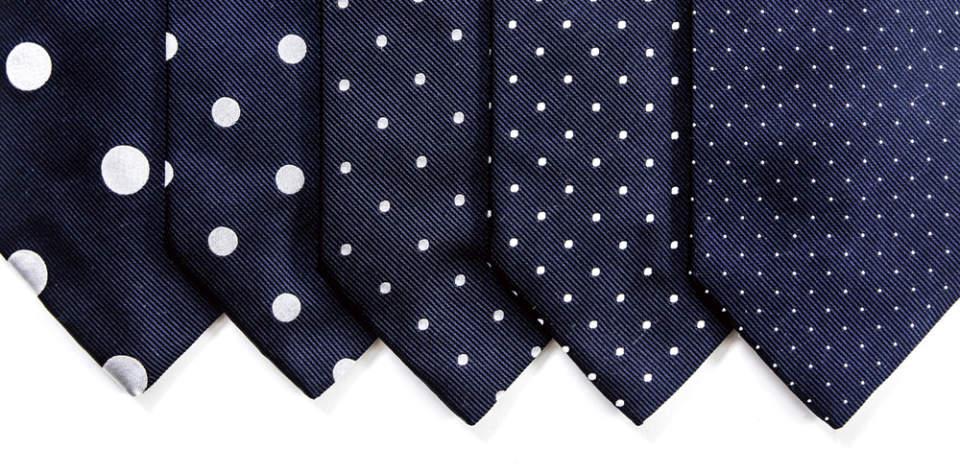 ネクタイの柄には意味があった。自分に合ったコーディネートの実践に欠かせない基礎知識 4番目の画像