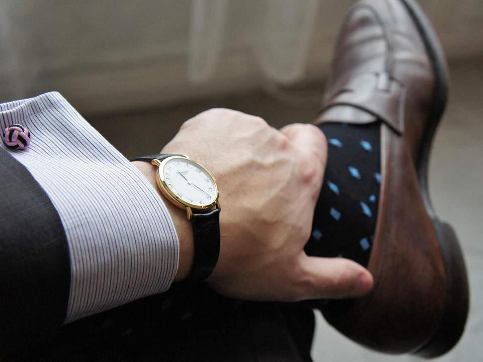 ビジネスシーンに最適な時計の選び方。4つの条件を守れば、恥をかかない常識あるオトナに 3番目の画像