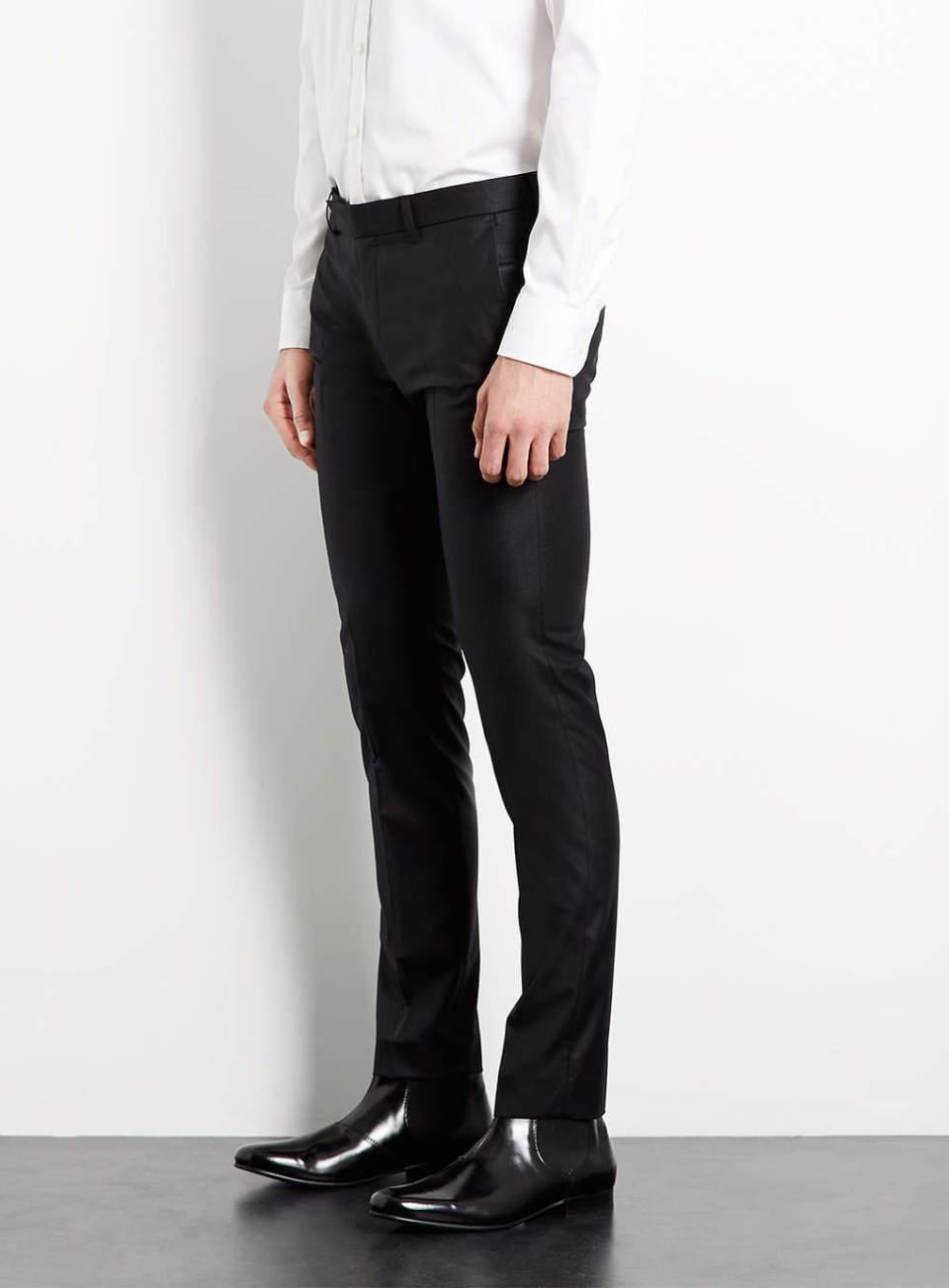 スーツスタイルのシルエットを美しく。サイズ感の合った「パンツ」選びには3つのルールが欠かせない 4番目の画像