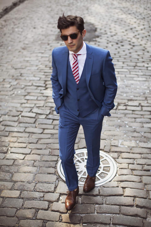 スーツスタイルに一歩差をつけるなら、流行の色に注目!お洒落な男はいつだって季節感を意識する 2番目の画像