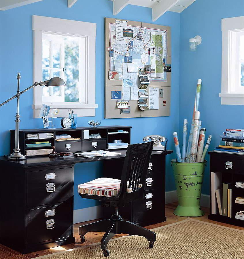 家で仕事をしている人へ。ちょうど良いリラックス感で集中できる、ホームオフィスインテリアのすすめ 3番目の画像
