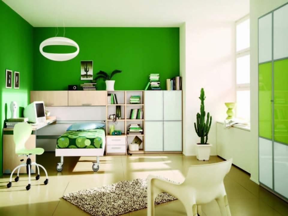 さわやかな気分で朝を迎えたくて。スッキリした色の「ビタミンカラー」を使ったインテリア事例3選 1番目の画像