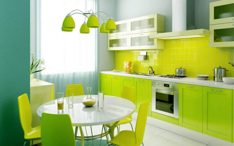 さわやかな気分で朝を迎えたくて。スッキリした色の「ビタミンカラー」を使ったインテリア事例3選 2番目の画像