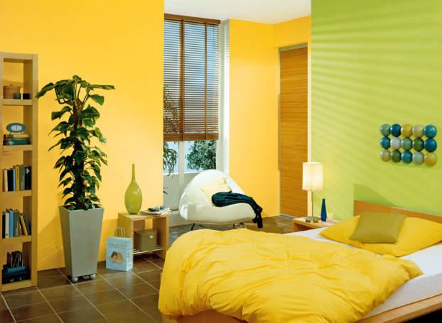 さわやかな気分で朝を迎えたくて。スッキリした色の「ビタミンカラー」を使ったインテリア事例3選 4番目の画像