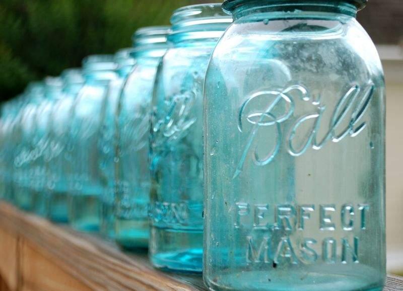 部屋をお洒落に飾る魔法の小瓶「メイソンジャー」。インテリアとしての活用まとめ 1番目の画像