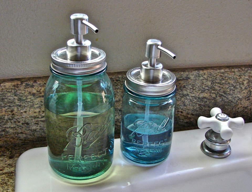 部屋をお洒落に飾る魔法の小瓶「メイソンジャー」。インテリアとしての活用まとめ 5番目の画像