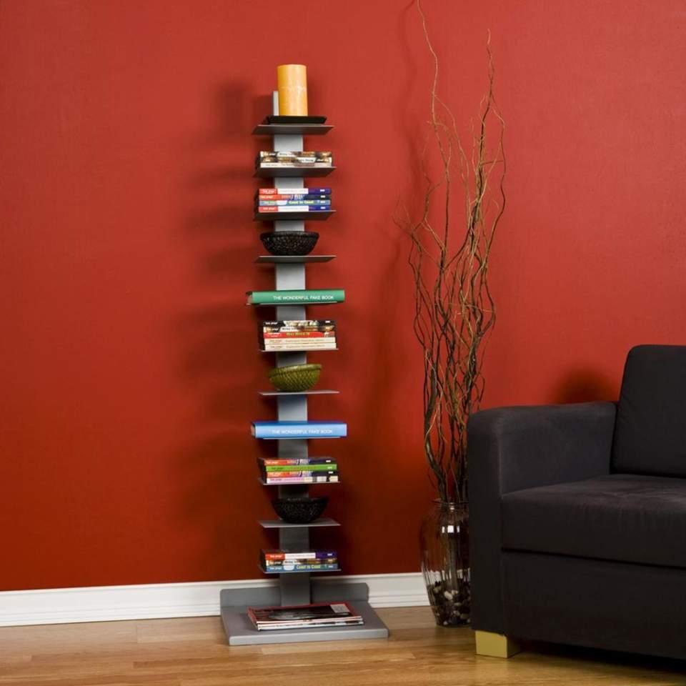本をスマートに収納すると、インテリアとして美しくみえる。スペースを活用した本棚の収納実例まとめ 3番目の画像