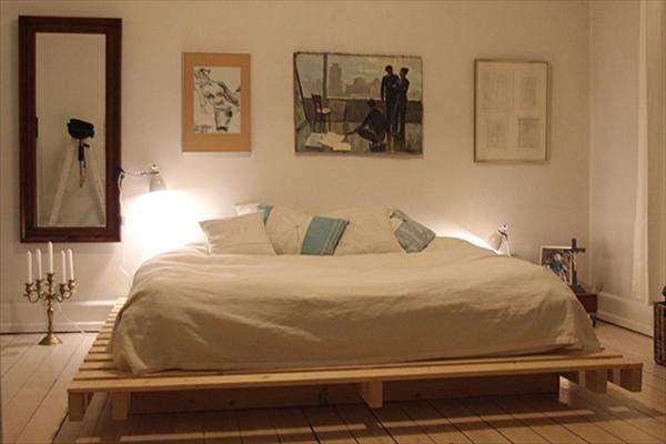 実用性は高いけど、ダサく見えがち? 実はお洒落に飾れる「すのこベッド」実例まとめ 1番目の画像