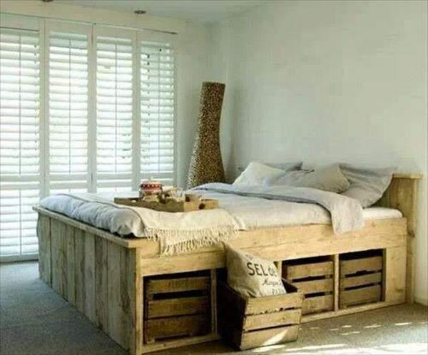 実用性は高いけど、ダサく見えがち? 実はお洒落に飾れる「すのこベッド」実例まとめ 3番目の画像